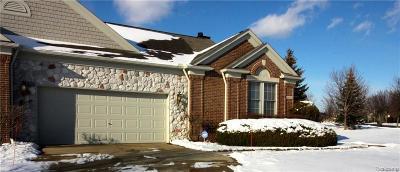 Northville Twp Condo/Townhouse For Sale: 44562 Aspen Ridge Drive