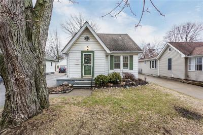 Clawson Single Family Home For Sale: 333 Massoit Street