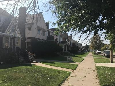 Macomb County, Oakland County, Wayne County Single Family Home For Sale: 4219 Pasadena Street