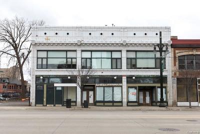 Detroit Condo/Townhouse For Sale: 3139 Woodward Avenue #5