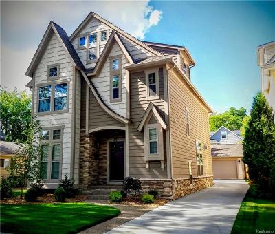 Birmingham MI Single Family Home For Sale: $863,000