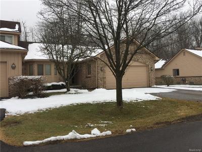 Farmington, Farmington Hills Condo/Townhouse For Sale: 30767 Misty Pines Drive