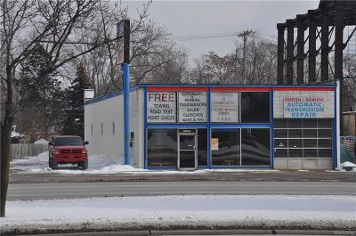 Royal Oak Commercial For Sale: 32044 Woodward Avenue