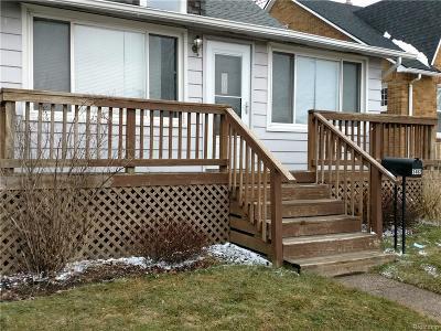 Berkley Single Family Home For Sale: 3462 Ellwood Avenue