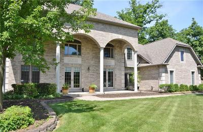 Grosse Ile Twp MI Single Family Home For Sale: $565,000
