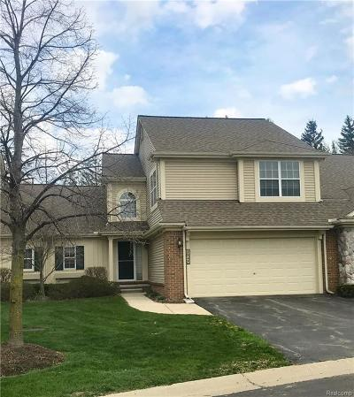 Canton, Canton Twp Condo/Townhouse For Sale: 1845 Wentworth Court