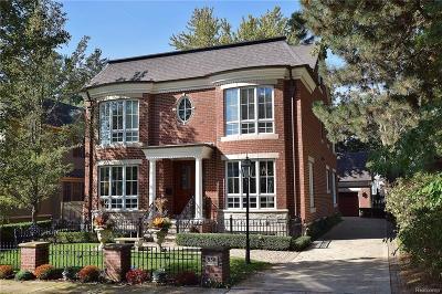 Birmingham MI Single Family Home For Sale: $1,495,000