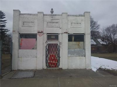 Detroit MI Commercial For Sale: $59,900