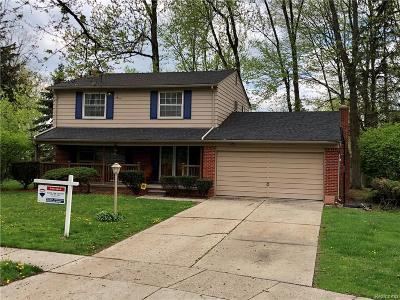 Southfield Single Family Home For Sale: 28705 Carmel Court