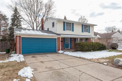 Livonia Single Family Home For Sale: 36771 Ladywood Street
