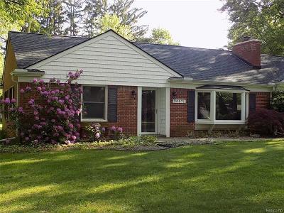 Franklin Vlg Single Family Home For Sale: 30571 N Greenbriar Road