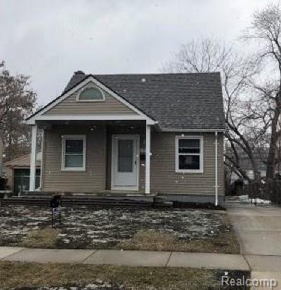 Wayne Single Family Home For Sale: 3963 Mildred Street