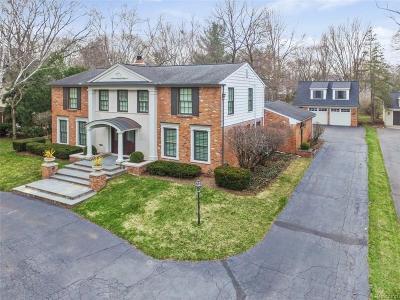 Birmingham MI Single Family Home For Sale: $1,295,000