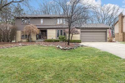 Farmington Hills Single Family Home For Sale: 31127 N Park Drive