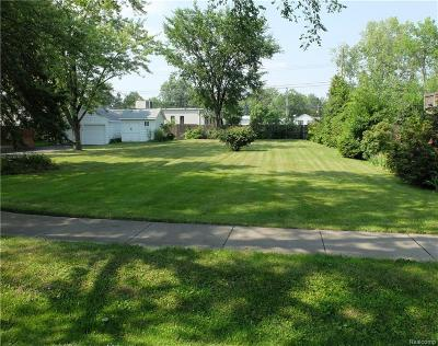 Waterford Twp Residential Lots & Land For Sale: Vac Hallman