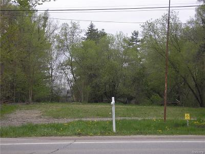 Oakland Twp Residential Lots & Land For Sale: 436 S Rochester Road