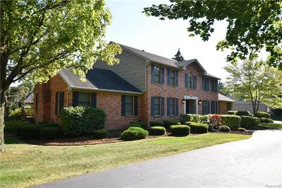 Bloomfield Twp Single Family Home For Sale: 375 W Hickory Grove Road