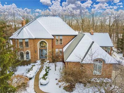 West Bloomfield Twp Single Family Home For Sale: 7573 Knoll Crest Drive