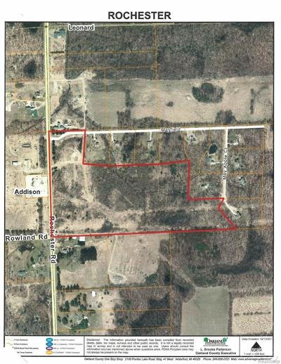 Residential Lots & Land For Sale: 3580 Rochester