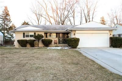 Southfield Single Family Home For Sale: 23736 Wendy Lane