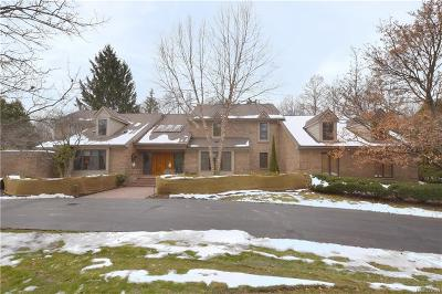 Bloomfield Hills Single Family Home For Sale: 257 Pine Ridge Drive