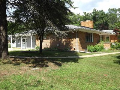 Single Family Home For Sale: 5490 Waldon Road