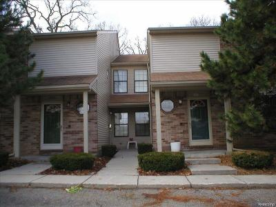 Waterford Twp Condo/Townhouse For Sale: 4941 Oak Hill Drive