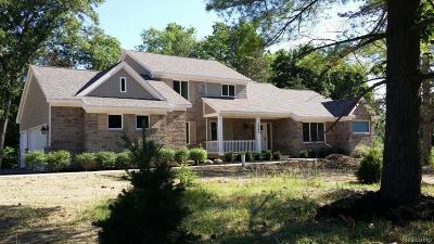 Ortonville Single Family Home For Sale: 3360 Starbluff Court