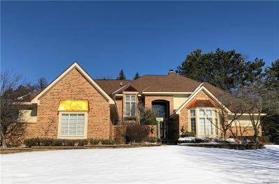Rochester Single Family Home For Sale: 6351 Cherry Tree Court