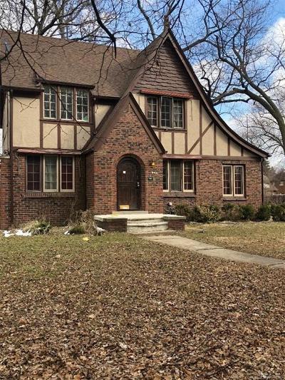 Detroit Single Family Home For Sale: 14600 Abington Avenue