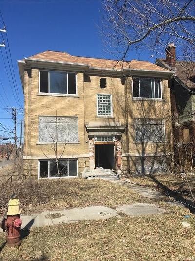 Detroit Multi Family Home For Sale: 2756 Hogarth Street