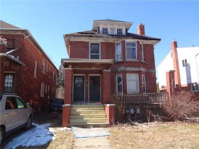 Detroit Multi Family Home For Sale: 607 Philip Street