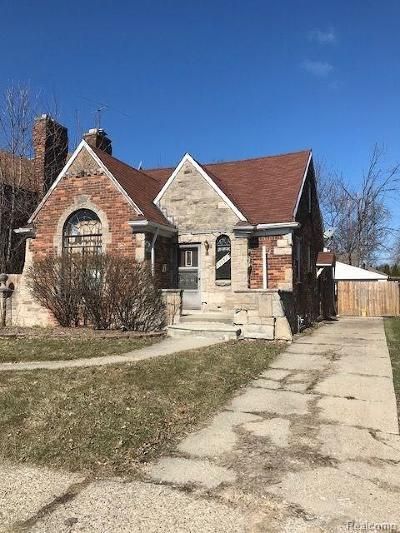 Detroit Single Family Home For Sale: 11951 E Outer Drive