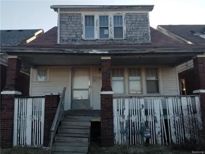 Detroit Single Family Home For Sale: 8186 Burnette Street