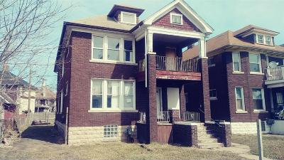 River Rouge MI Single Family Home For Sale: $34,000