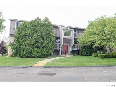 Farmington, Farmington Hills Condo/Townhouse For Sale: 29830 W Twelve Mile Road #305