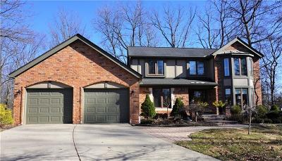 Rochester, Rochester Hills Single Family Home For Sale: 412 Streamview Court
