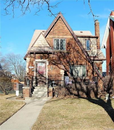 Wyandotte Single Family Home For Sale: 418 Biddle Avenue