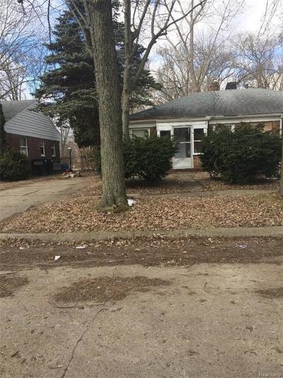 Macomb County, Oakland County, Wayne County Single Family Home For Sale: 12219 Braile Street