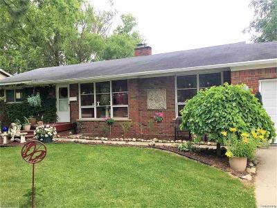 Romeo Vlg, Bruce Twp, Washington Twp Single Family Home For Sale: 7524 Smale Street