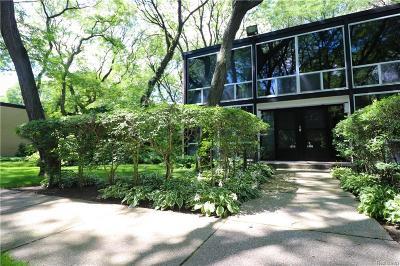 Detroit Condo/Townhouse For Sale: 1370 Nicolet