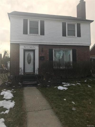 Detroit Single Family Home For Sale: 5783 Bluehill Street