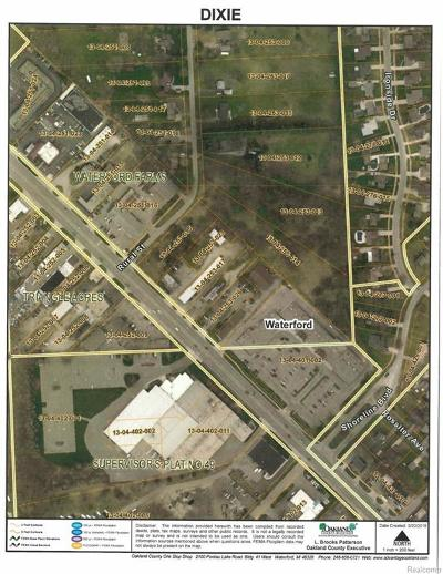 Clarkston, Waterford, Waterford Twp Commercial Lots & Land For Sale: Dixie Highway