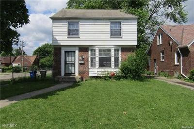Detroit Single Family Home For Sale: 16803 Lindsay Street