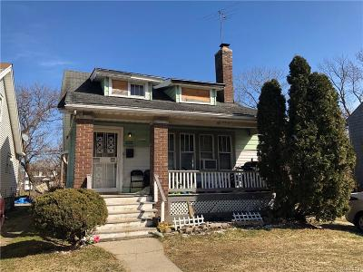Detroit MI Single Family Home For Sale: $17,000