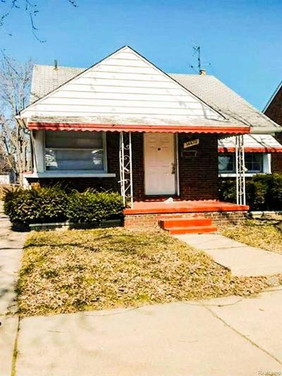 Detroit Single Family Home For Sale: 14473 Rosemary Street
