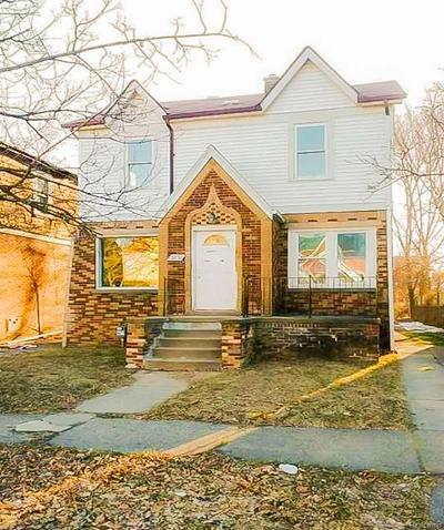 Detroit Single Family Home For Sale: 15850 Littlefield Street