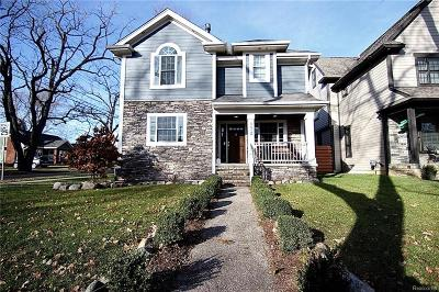 Rochester Hills, Rochester Single Family Home For Sale: 932 Roselawn