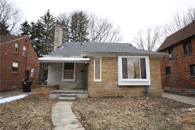 Detroit Single Family Home For Sale: 14545 Artesian Street