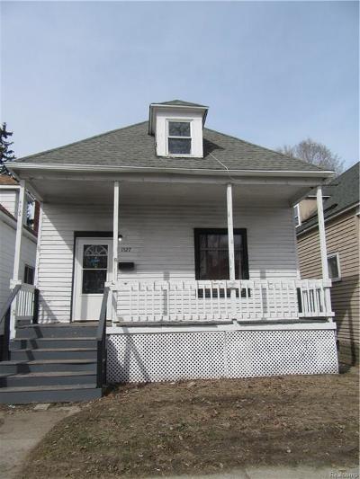 Port Huron MI Single Family Home For Sale: $44,900